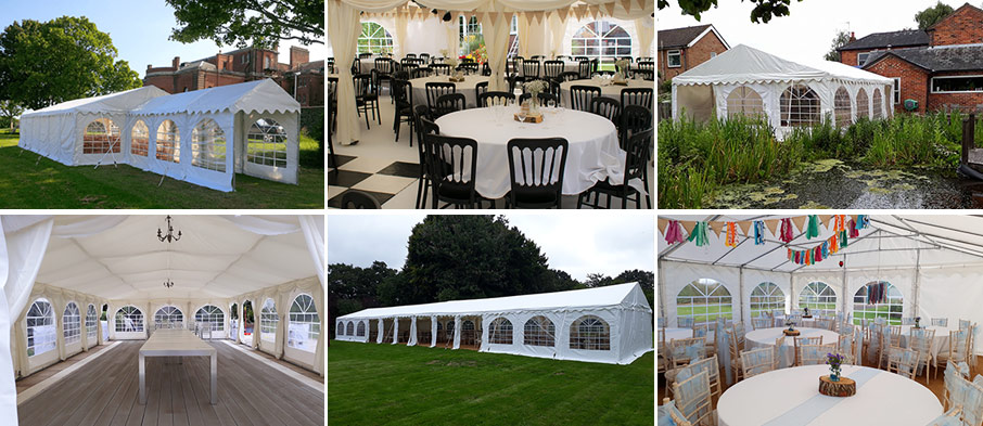 Traditional marquees for hire