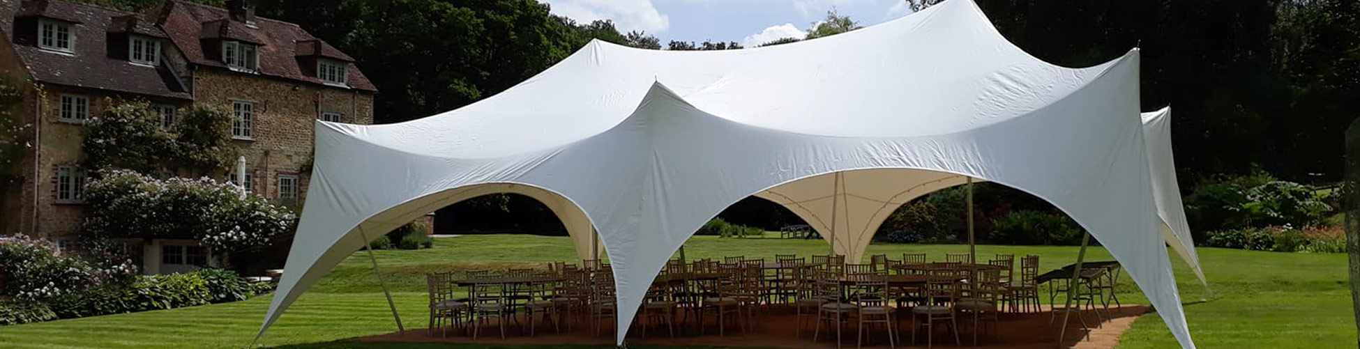 Capri marquee hire Hampshire